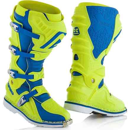 X-Move 2.0 Boots Yellow / Blue Acerbis