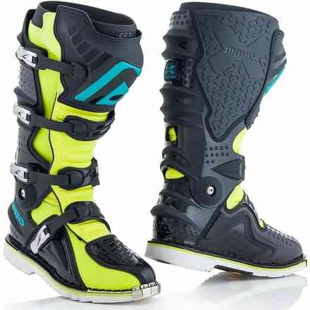 X-Move 2.0 Boots Yellow / Gray Acerbis