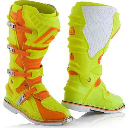 X-Move 2.0 Stiefel Gelb / Orange Acerbis