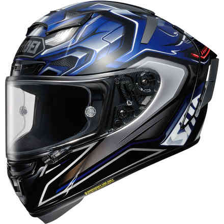 X-Spirit 3 Aerodyne Tc2 Helm Shoei