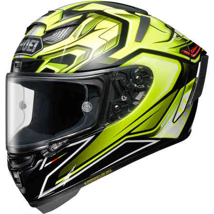 X-Spirit 3 Aerodyne Tc3 Helm Shoei