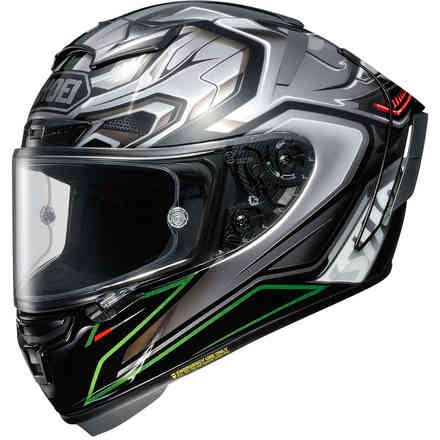 X-Spirit 3 Aerodyne Tc4 Helm Shoei