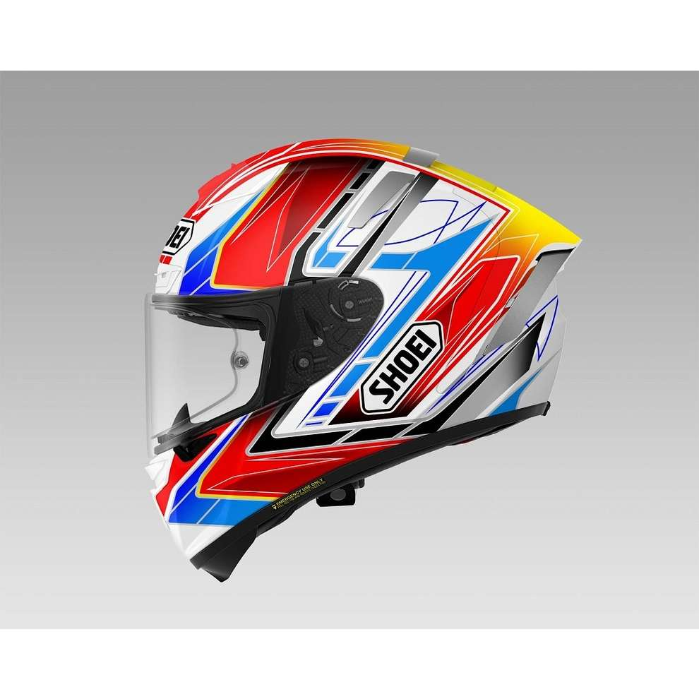 X-spirit III Assail Tc-10 Helmet Shoei