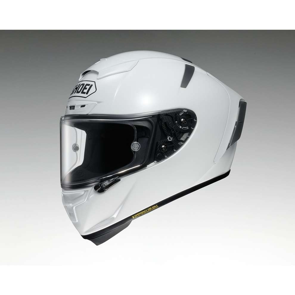 X-spirit III Plain White Helmet Shoei