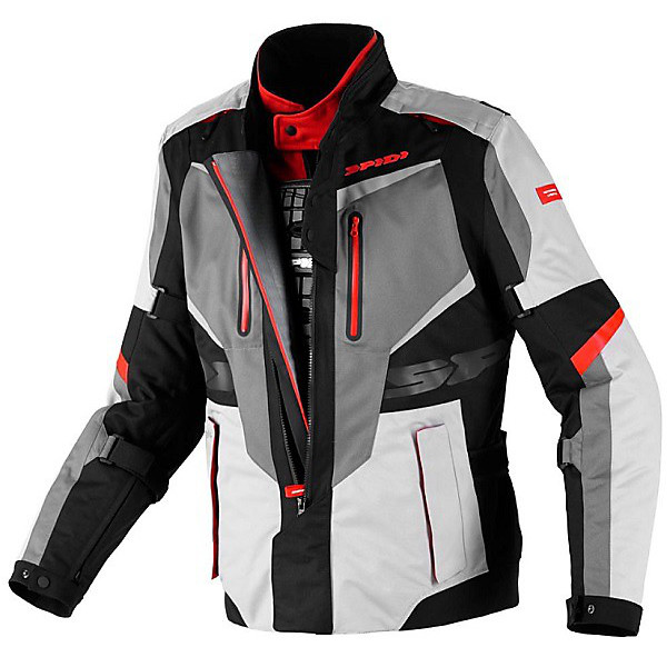 X  Tour H2Out   Jacket black-red Spidi