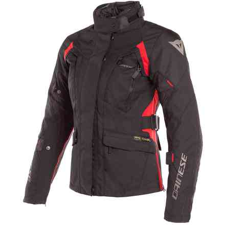 X-Tourer Lady D-Dry jacket black red Dainese