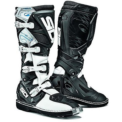 X-Treme black-white Boots Sidi