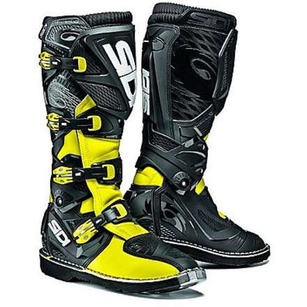 X-Treme black-yellow Boots Sidi