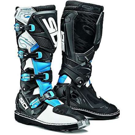 X-Treme white-light blue-black Boots Sidi