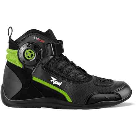 X-Ultra Wrs black green Spidi