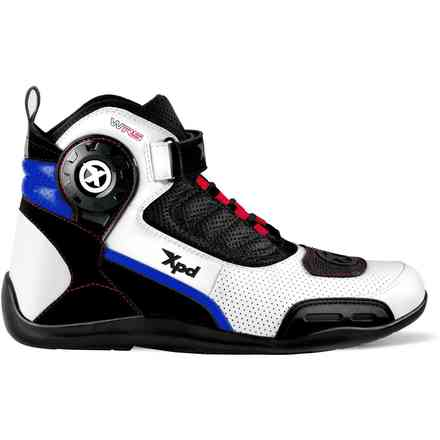 X-Ultra Wrs white blue Shoes Spidi