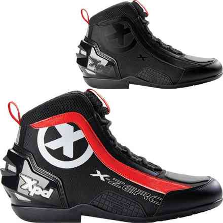 X-Zero Black Red Shoe Spidi