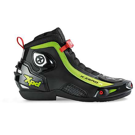 X-Zero R Shoe black-green Spidi