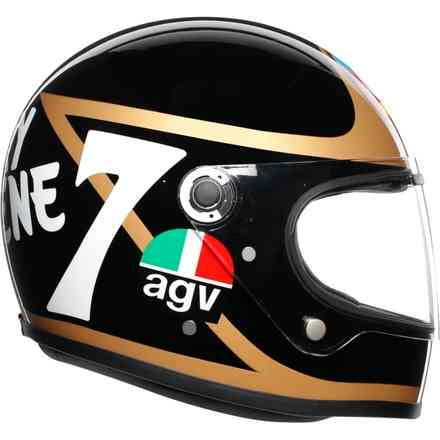 X3000 Limited Edition Barry Shee helmet Agv