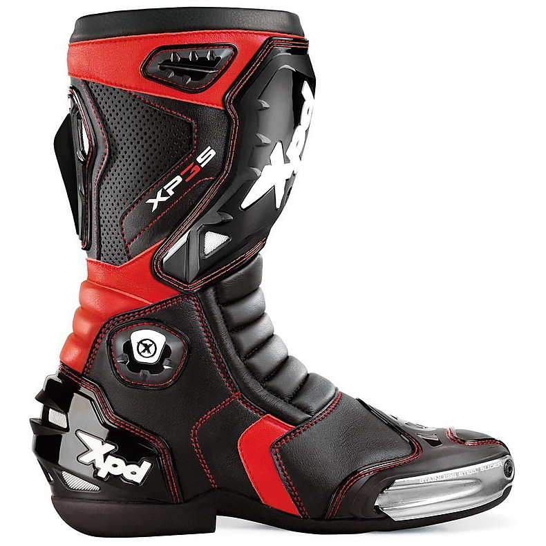 Xp3-s Boots black-red Spidi
