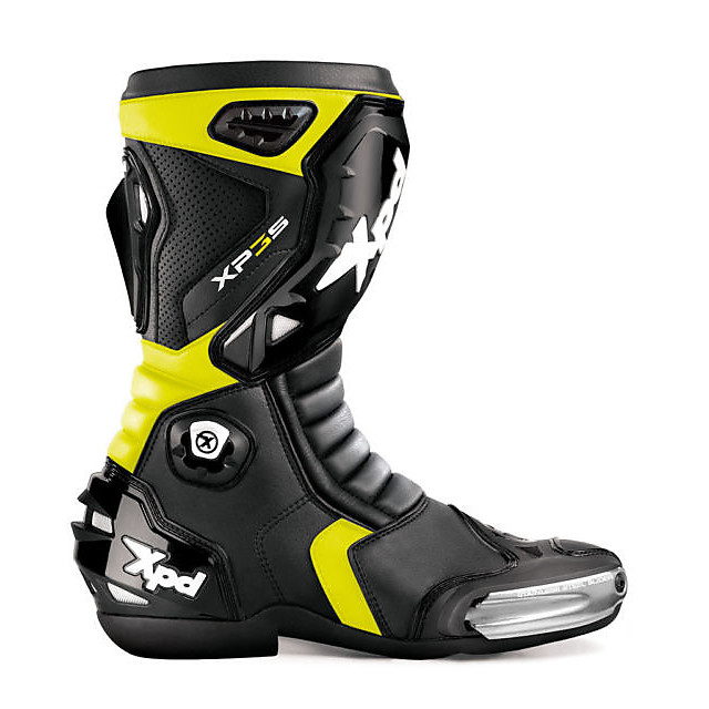 Xp3-s Boots black-yellow Spidi