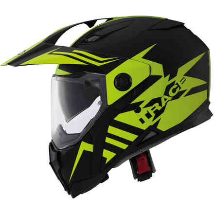 Xtrace Lux Matt black yellow fluo Caberg