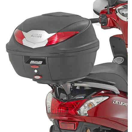 Yamaha D'Elight 125 Luggage Carrier (17) Givi