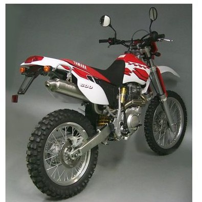 Yamaha Tt 600 R '99/01 Tt 600 E '00 Terminale Paris Dakar Replica Arrow