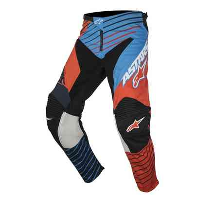 Youth Racer Braap 2017 Pants blue orange Alpinestars