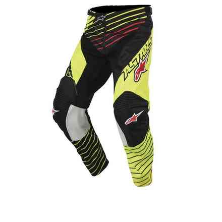 Youth Racer Braap 2017 Pants yellow black Alpinestars