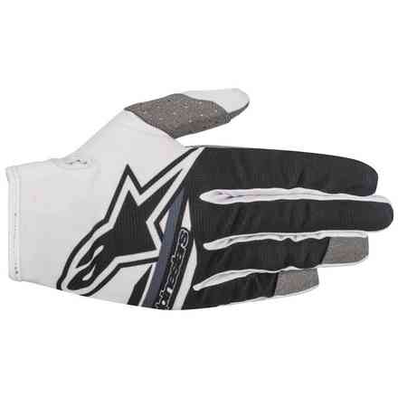 Youth Radar Flight 2018 gloves white black Alpinestars