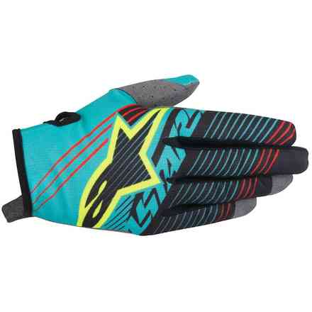 Youth Radar Tracker Gloves blue black Alpinestars