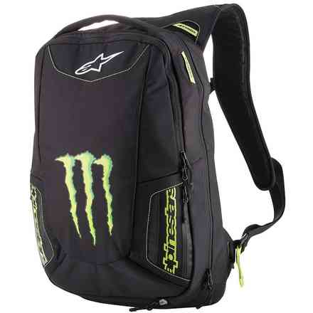 Zaino Alpinestars Monster Marauder Backpack Nero - Verde Alpinestars