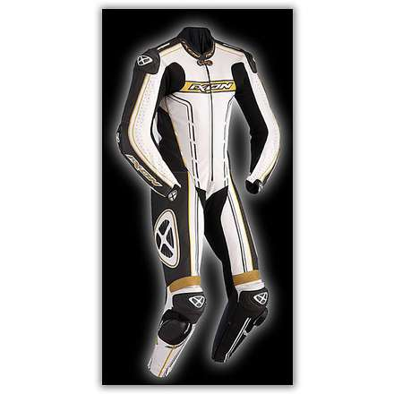 Zenith Professional White / Black / Gold Suit Ixon