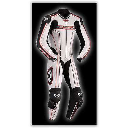 Zenith Professional White / Black / Red Suit Ixon